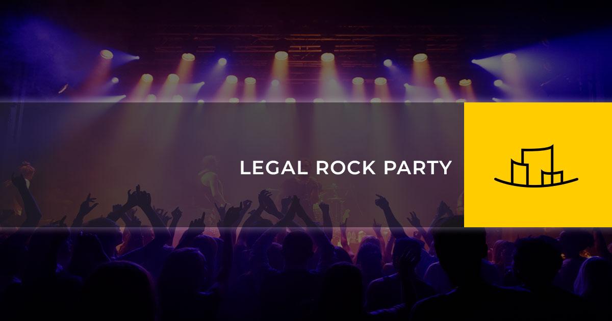 LEGAL ROCK PARTY