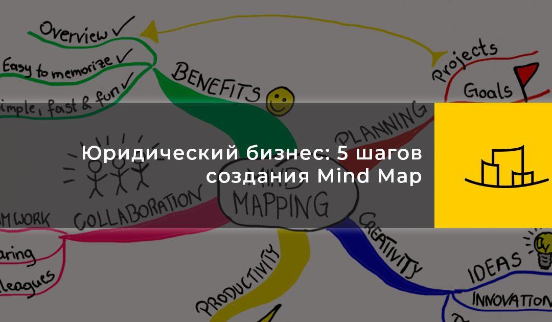 Юридический бизнес: 5 шагов создания Mind Map