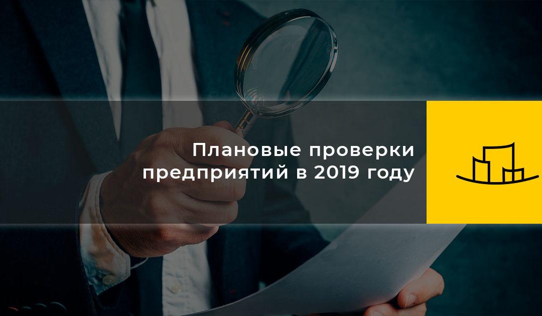 Плановые проверки предприятий в 2019 году