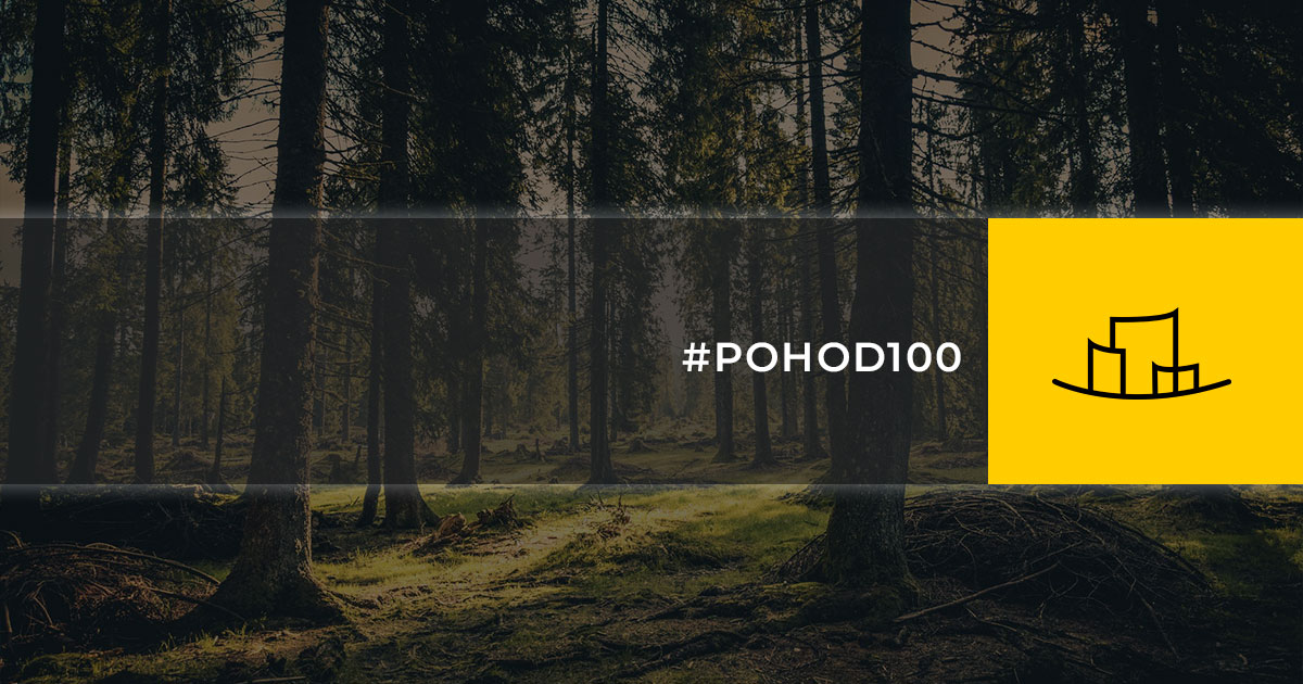 #POHOD100